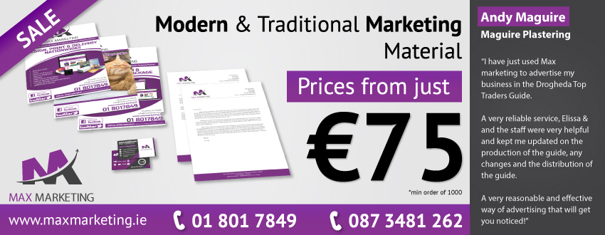 Print & Design Dublin Meath Louth - Max Marketing Print & Design Ltd