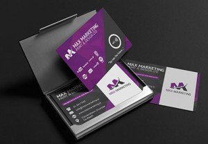 Max Marketing - Business Cards