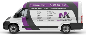 Max Marketing - Van Wrap Vehicle Graphics Dublin Meath Louth