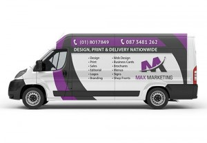 Vehicle-Graphics - Max Marketing Print & Design Ltd