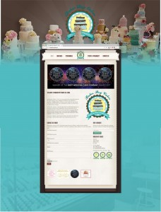 Max Marketing | Web Design & marketing Ireland - Baker Boy Cakes Main Web Design Image